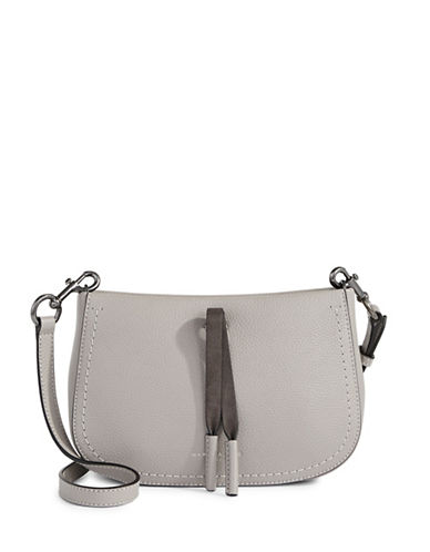 Marc Jacobs Maverick Leather Xbody Bag-SMOKE GREY-One Size
