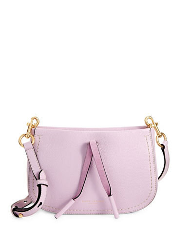 Marc Jacobs Maverick Leather Xbody Bag-PALE LILAC-One Size