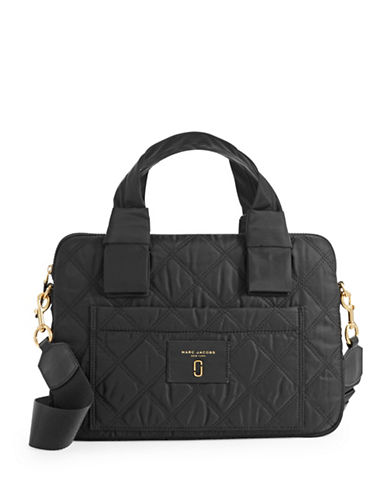 Marc Jacobs Quilted Commuter Case-BLACK-One Size
