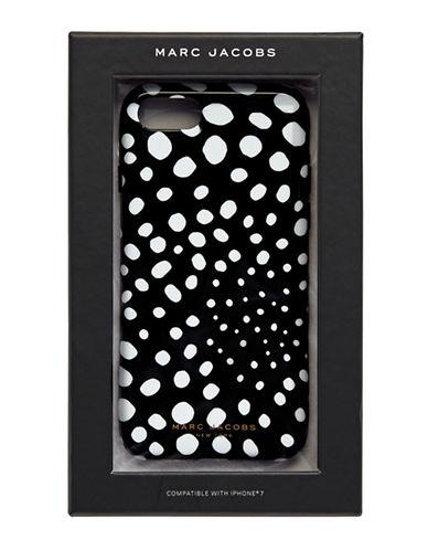 Marc Jacobs Wavy Dot Phone Case-BLACK-One Size
