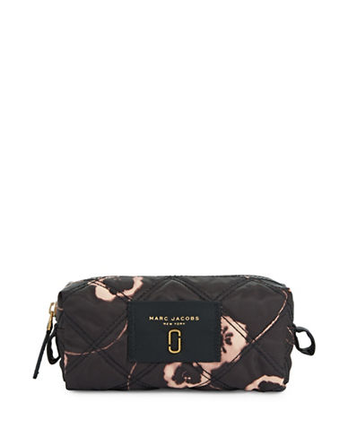 Marc Jacobs Quilted Cosmetic Case-BLACK-One Size