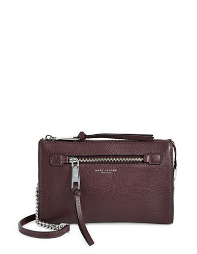 Marc Jacobs Small Crossbody Bag-PURPLE-One Size