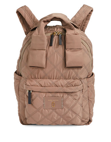 Marc Jacobs Nylon Knot Large Backpack-GREY-One Size