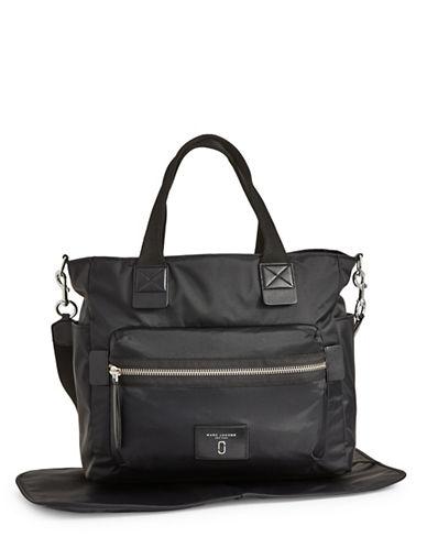 Marc Jacobs Nylon Biker Babybag-BLACK-One Size