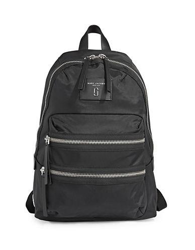 Marc Jacobs Nylon Biker Backpack-BLACK-One Size