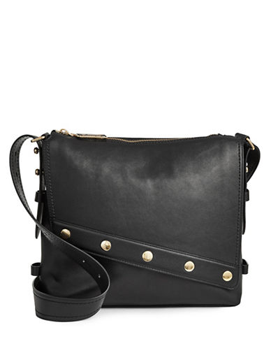 Marc Jacobs Renegade Slouch Leather Hobo Bag-BLACK-One Size
