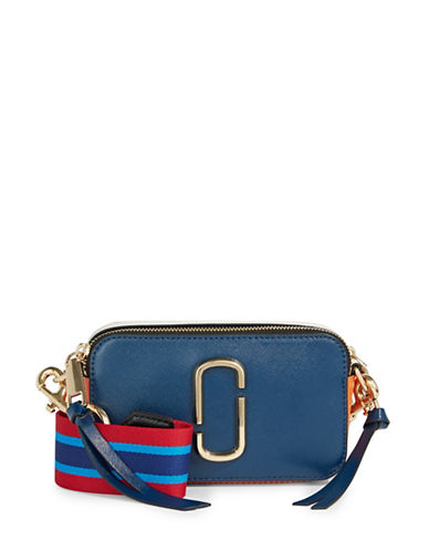 Marc Jacobs Camera Bag With Guitar Strap-BLUE SEA-One Size