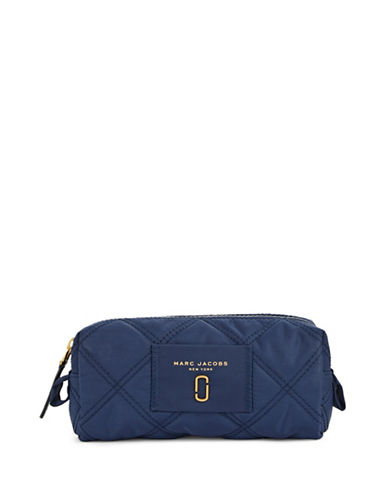 Marc Jacobs Nylon Knot Narrow Cosmetic Case-BLUE-One Size