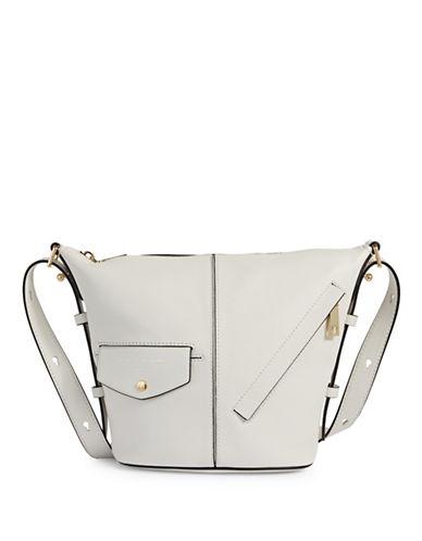 Marc Jacobs Mini Sling Crossbody Bag-WHITE GLOW-One Size