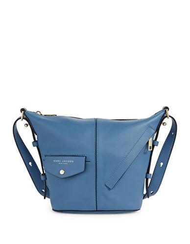 Marc Jacobs Mini Sling Crossbody Bag-BLUE-One Size