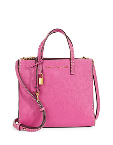 Marc Jacobs Mini Grind Leather Tote-HYDRA-One Size