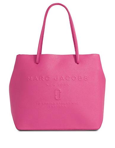 Marc Jacobs Logo Shopper Bag-HYDRANGEA-One Size