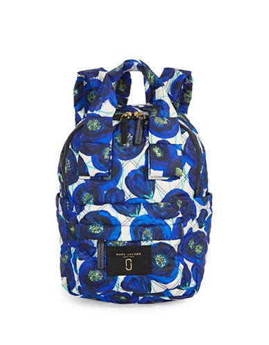 Marc Jacobs Mini Graphic Backpack-BLUE MULTI-One Size