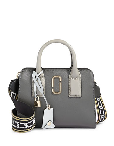 Marc Jacobs Little Big Shot Top Handle Bag-GRAPHITE-One Size