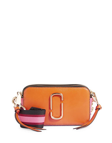 Marc Jacobs Camera Bag With Guitar Strap-ORANGE-One Size