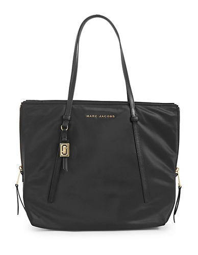 Marc Jacobs Classic Shopping Tote-BLACK-One Size 89985304_BLACK_One Size