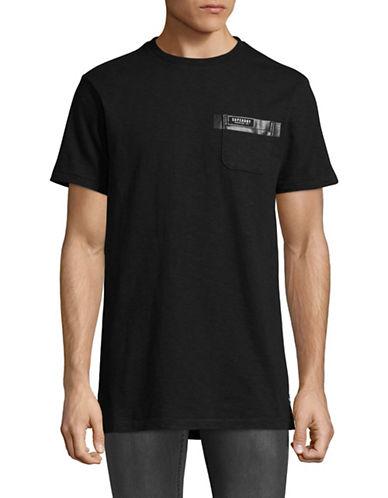 Superdry Surplus Longline T-Shirt-BLACK-X-Large
