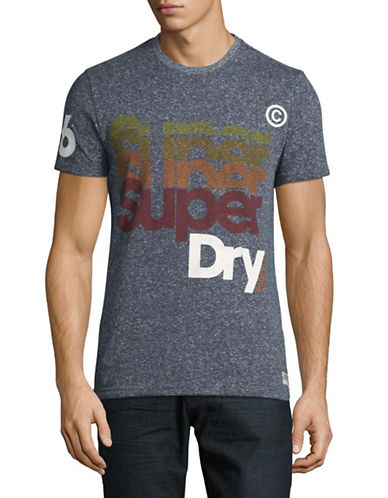 Superdry Pacific T-Shirt-INDIGO-Medium