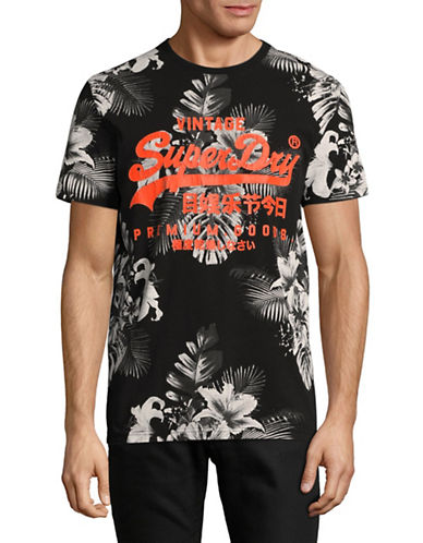 Superdry Premium Goods Printed T-Shirt-BLACK-Large