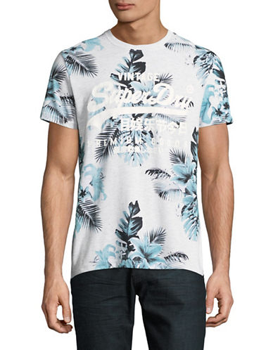 Superdry Premium Goods Printed T-Shirt-BLUE-Large
