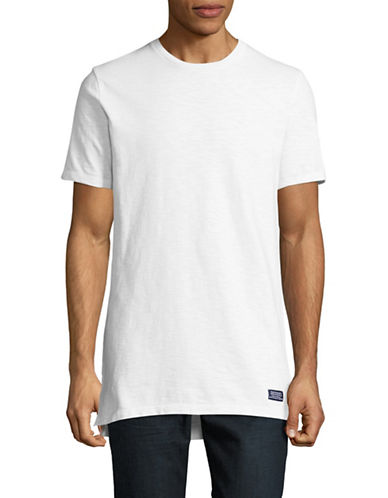 Superdry Optic Dry Longline T-Shirt-WHITE-X-Large