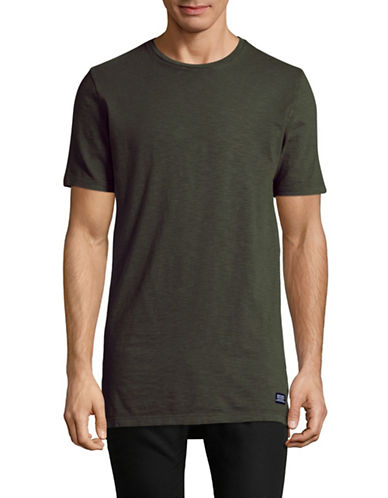 Superdry Optic Dry Longline T-Shirt-BEIGE-Medium