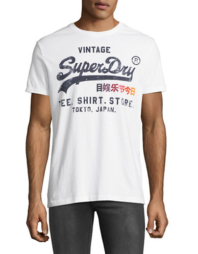 Superdry Shirt Shop Surf T-Shirt-WHITE-Medium