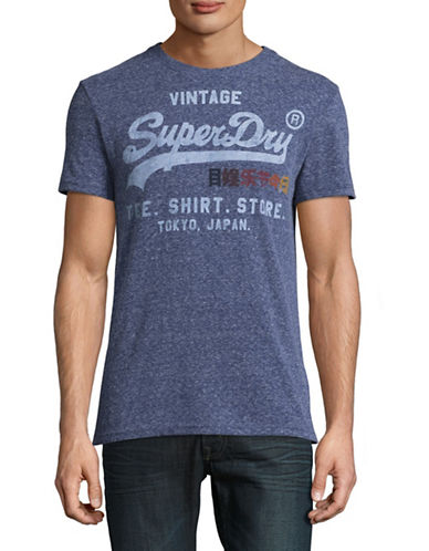 Superdry Shirt Shop Surf T-Shirt-BLUE-Large