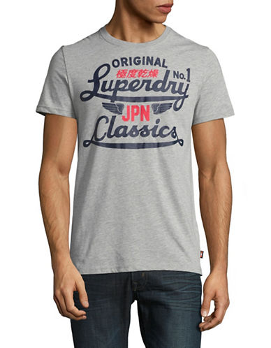 Superdry Icarus Modern Classic Lite T-Shirt-GREY-X-Large