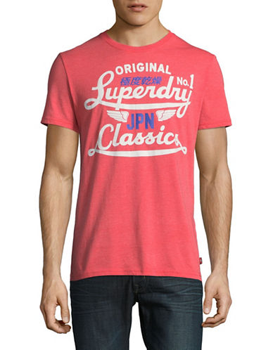 Superdry Icarus Modern Classic Lite T-Shirt-RED-Medium 89341003_RED_Medium