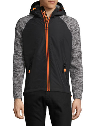 Superdry Raglan Hooded Jacket-BLACK-Medium 89345767_BLACK_Medium