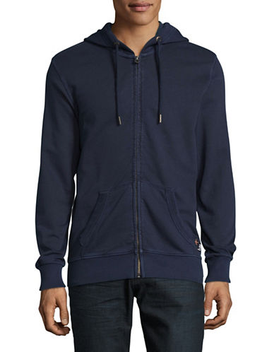 Superdry Dry Original Zip Hoodie-NAVY-Medium