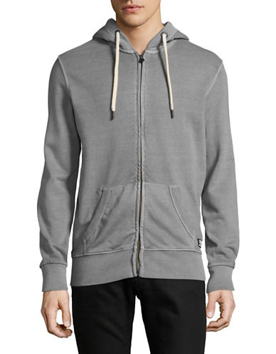 Superdry Dry Original Zip Hoodie-GREY-Medium