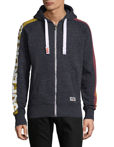 Superdry Pacific Surf Hoodie-BLUE-Small