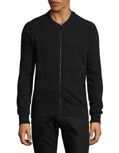 Superdry Urban Bomber Sweater-BLACK-Medium