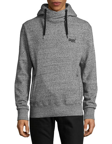 Superdry Orange Label Urban Hoodie-GREY-Large