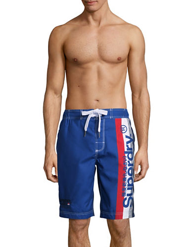 Superdry Cali Surf Board Shorts-BLUE-Small 89341086_BLUE_Small