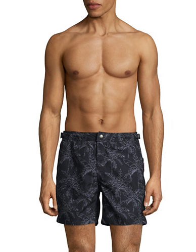 Superdry CQ2 International Swim Shorts-GREEN-Small