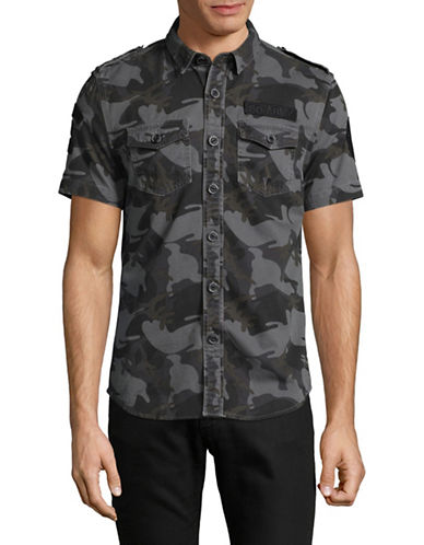 Superdry SD-Army Corps Shirt-BLACK-Large
