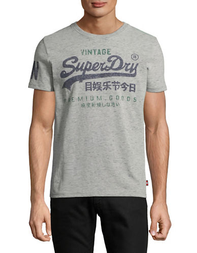 Superdry Graphic Crew Neck Tee-GREY-Small 89666050_GREY_Small