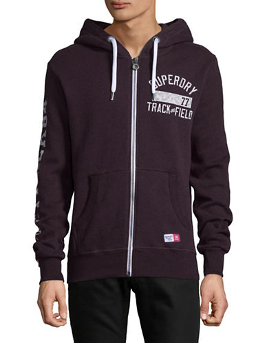 Superdry Trackster Zip Hoodie-BLUE-Medium 89513297_BLUE_Medium