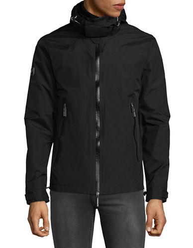 Superdry Arctic Hooded Cliff Hiker Jacket-BLACK-XX-Large