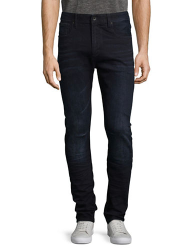Superdry Slim Low-Rise Jeans-BLUE-32