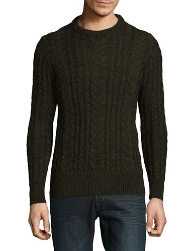 Superdry Jacob Heritage Sweater-GREEN-X-Large