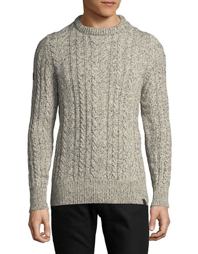 Superdry Jacob Heritage Sweater-BEIGE-Small