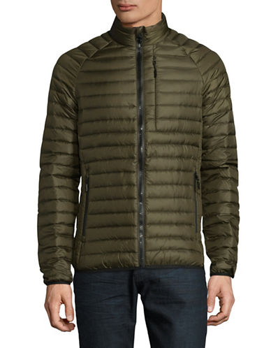 Superdry Core Down Quilted Jacket-BEIGE-X-Large