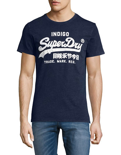Superdry Vintage Logo Tee-BLUE-X-Large