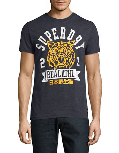 Superdry Celebration Crew Neck Tee-MIDNIGHT-Small
