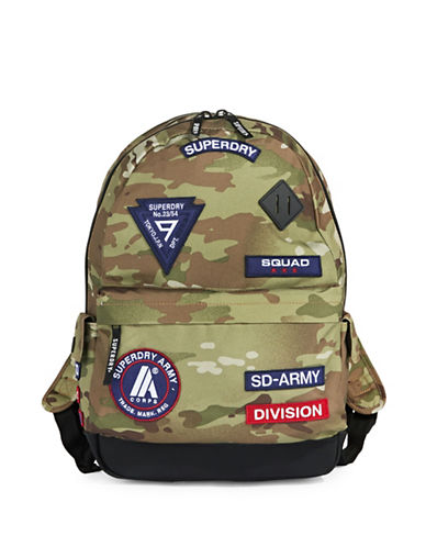 Superdry Platoon Montana Backpack-MULTI-COLOURED-One Size