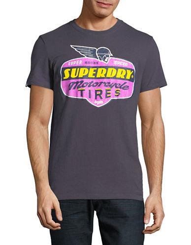 Superdry Reworked Classic Tee-BLACK-Large